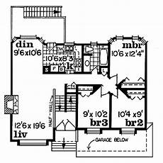 1100 square feet house plans traditional style house plan 3 beds 1 baths 1100 sq ft