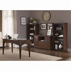 home office furniture walmart liberty furniture leyton i 4 piece home office set in