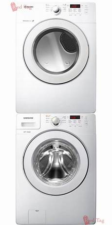 new samsung white 3 6 cf washer electric dryer laundry
