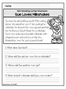 close reading comprehension printable worksheets by elementary at heart