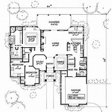 hacienda style house plans first floor plan image of featured house plan pbh 1855