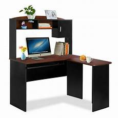 corner computer desk l shaped workstation home office student furniture chair ebay