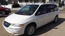 1999 chrysler town and country lx minivan elite auto