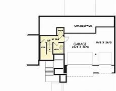 uphill slope house plans 3 bed prairie style for an uphill sloping lot 69600am