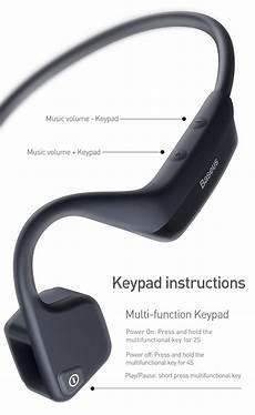 Bakeey Bone Conduction Business Earphone Bluetooth by Baseus Bc10 Bone Conduction Wireless Bluetooth 5 0