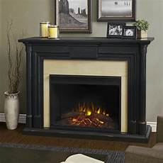 Black Fireplaces 58 quot maxwell grand black wash electric fireplace