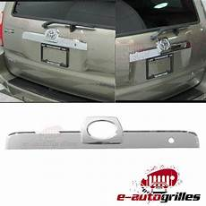 chrome rear hatch accent trim tailgate liftgate cover for 03 09 toyota 4runner ebay