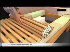 Lattenrost Selber Bauen - bett lattenrost richtig einstellen auf matratzen h 228 rtegrad