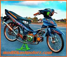 Jupiter Z Modifikasi Simple by Modifikasi Jupiter Z Drag Bike Thailook Simple