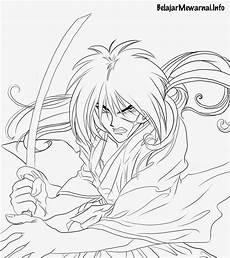 Gambar Mewarnai Samurai X Gambar Mewarnai Lucu