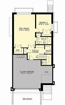 house plans for downward sloping lots northwest house plan for front sloping lot house plans
