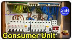 step by step how to connect up a 10 way wylex dual rcd consumer unit fuse box by luke wichard