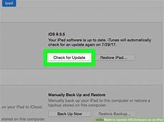 2 easy ways to update ios software an ipad wikihow