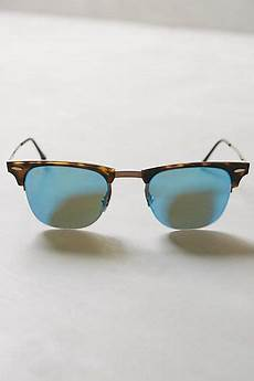ban lightray clubmaster sunglasses blue anthrofave
