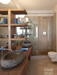 nel bagno in 57 mq due bagni per la casa dagli incastri perfetti