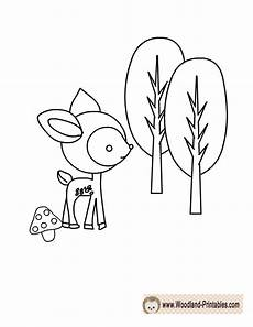 baby woodland animals coloring pages 17514 free printable woodland deer coloring page boy baby shower coloring pages
