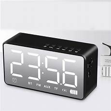 Bakeey Electronic Clock Display Dual Output bakeey q31 wireless bluetooth 5 0 speaker led display dual