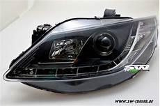 sw light scheinwerfer seat ibiza 6j 08 12 led tfl optik