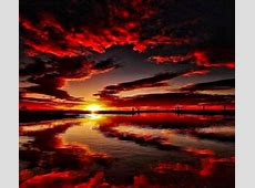 Red Sunset   Sunsets & Nature Background Wallpapers on