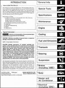 how to download repair manuals 1993 honda accord windshield wipe control 1993 honda accord repair shop manual original