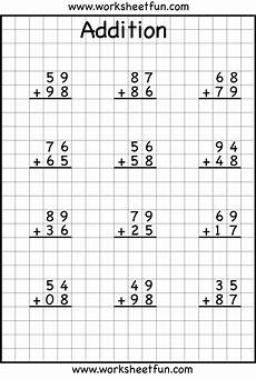 addition without regrouping worksheet for grade 1 addition regrouping teaching math math subtraction