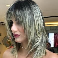 medium length shag hairstyles with bangs 50 medium shag haircuts for all hair types hair adviser