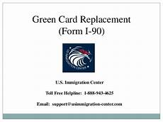 green card replacement form i 90