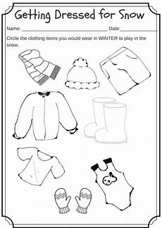 winter toddler worksheets 20108 winter weather wear preschool worksheet what would you wear on a cold day miniature masterminds