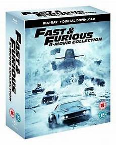 Fast And Furious 1 8 Complete Collection 8 Disc Box
