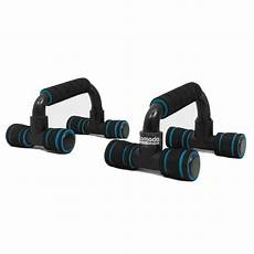 2x push up bars foam handles press pull up stand home exercise workout gym chest ebay