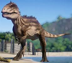 carcharodontosaurus jurassic world evolution wiki