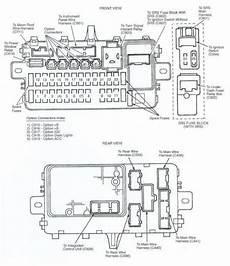 97 honda civic alternator wiring diagram 1995 honda accord wiring diagram