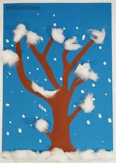 winterbilder zum basteln winterdeko basteln schneetreiben crafts things to do