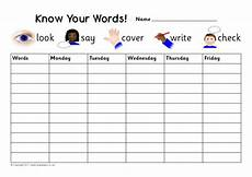 spelling practice worksheets look cover write check 22456 editable weekly spelling practice charts sb5132 sparklebox