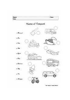 means of transport esl worksheet by sumoreira