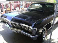 1967 Chevy Impala Hardtop Black 2 Door Classic Chevrolet