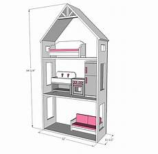 18 inch doll house plans free ana white smaller three story dollhouse for 18 quot and
