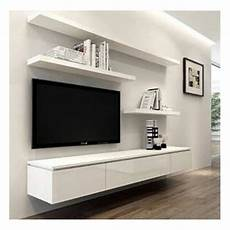 Wall Mounted Wood White Modern Tv Rack Rs 600 Square
