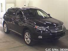 2010 lexus rx 450h black for sale stock no 38309