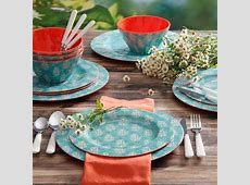 58 Walmart Melamine Dinnerware, The Lakeside Collection 12