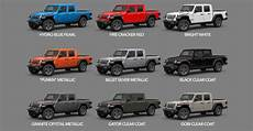 2020 jeep gladiator availability date 2020 gladiator colors availability dates start of