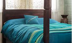 Turquoise Duvet Cover by Hyderabad Kingfisher Turquoise Duvet Cover Bed