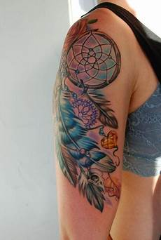 32 dreamcatcher tattoos on arm