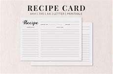 5x7 recipe card template free free cooking recipe card template rc1 creativetacos