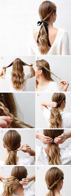 35 quick and easy step by step hairstyles for