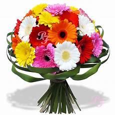 les fleurs du fleuriste bouquet arc en ciel