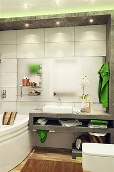 kleines bad einrichten gl 228 nzende ideen f 252 rs badezimmer