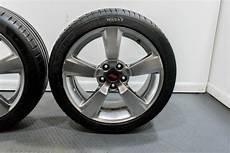 used gr sti oem cast aluminum 5 spoke wheels 18x8 5 with