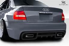 1996 2001 audi a4 s4 b5 4dr duraflex version 2 rear bumper 1 piece