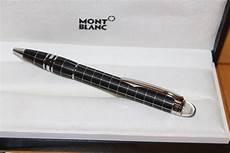 kugelschreiber mont blanc montblanc starwalker rubber steel line kugelschreiber in